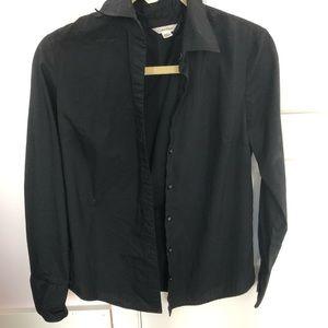 Calvin Klein button up blouse